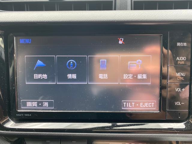 S 純正SDナビ スマートキー シートヒーター スペアタイヤ付 バックカメラ ワンオーナー ETC(4枚目)