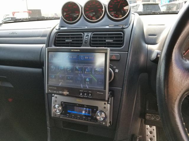 RS200HDDナビdefi3連メーターレカロTEIN車高調(19枚目)