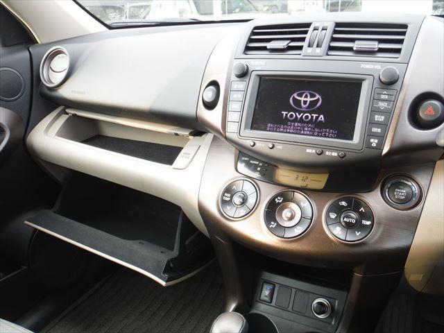 トヨタ ヴァンガード 240S純正HDDナビDVD再生スマートキー4WD