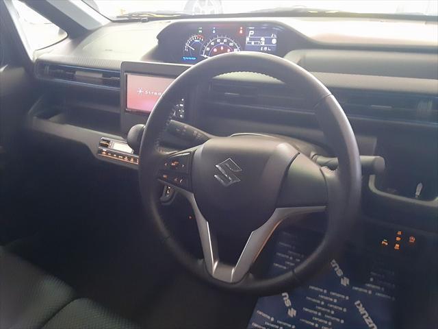 ハイブリッドFZ スズキセーフティサポート デュアルセンサーブレーキ 誤発進抑制機能 車線逸脱警報 パーキングセンサー ハイビームアシスト LEDヘッドライト シートヒーター アイドリングストップ スマートキー2個(18枚目)