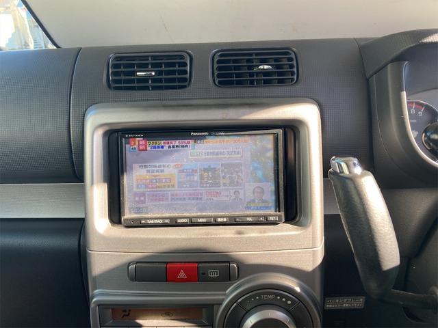 カスタム X 4WD ナビ HID CD スマートキー 電動格納ミラー 記録簿 ベンチシート 盗難防止システム 衝突安全ボディ ABS エアコン パワーステアリング パワーウィンドウ(4枚目)