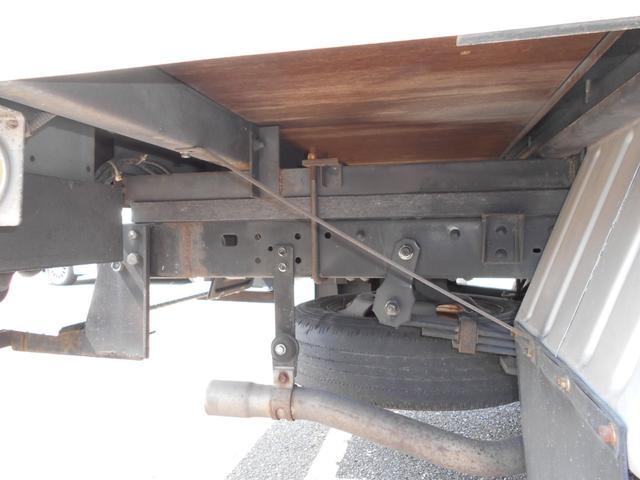 アルミバン1.5トン全低床  両サイドドア ラッシングレール(20枚目)