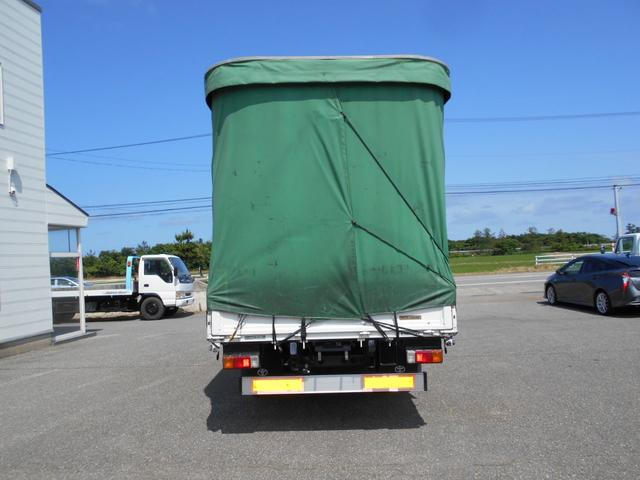 3.5トン ワイド超ロング カーテン車 5Mボデー(6枚目)