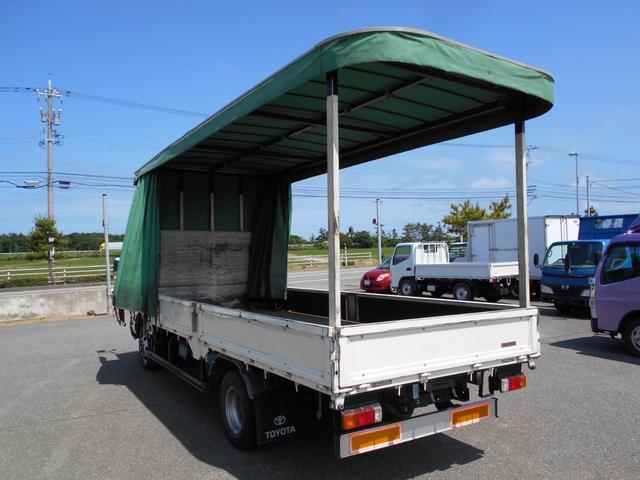 3.5トン ワイド超ロング カーテン車 5Mボデー(8枚目)