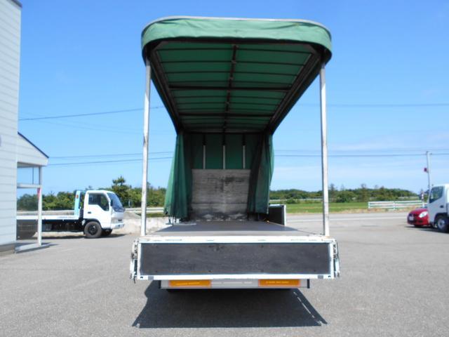 3.5トン ワイド超ロング カーテン車 5Mボデー(9枚目)