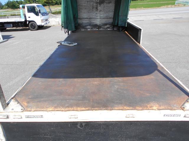 3.5トン ワイド超ロング カーテン車 5Mボデー(10枚目)