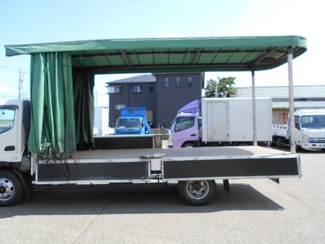 3.5トン ワイド超ロング カーテン車 5Mボデー(11枚目)