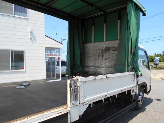 3.5トン ワイド超ロング カーテン車 5Mボデー(12枚目)