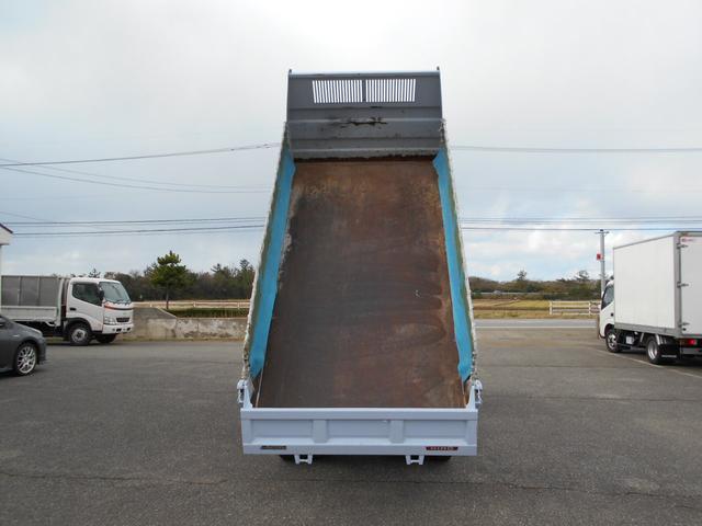 低床ダンプ 2トン 強化三方開(10枚目)