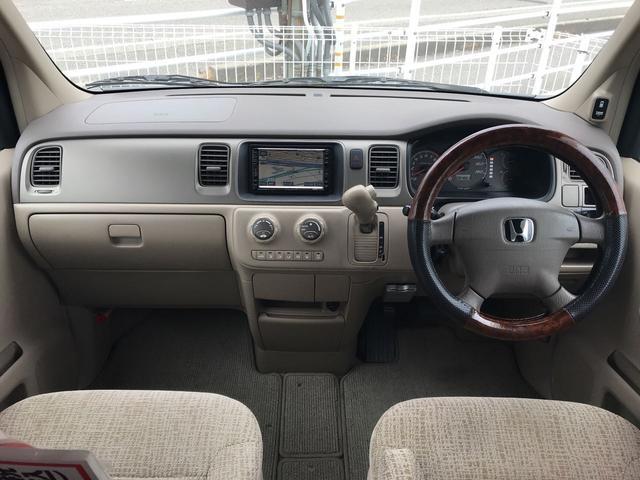ホンダ ステップワゴン D 4WD キーレス HDDナビ