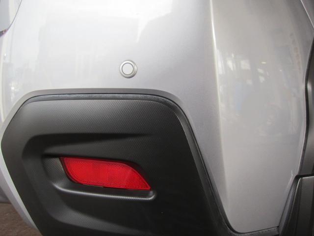 コーナーセンサー&バックセンサー付!。ブザーとマルチファンクションディスプレイの表示によって、障害物の接近距離を知らせます。