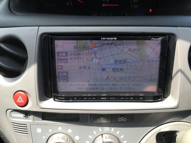 トヨタ シエンタ G メモリーナビTV フルセグ