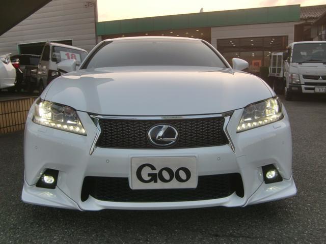 レクサス GS GS300h Fスポーツ TRD HDDマルチ 本革 SR