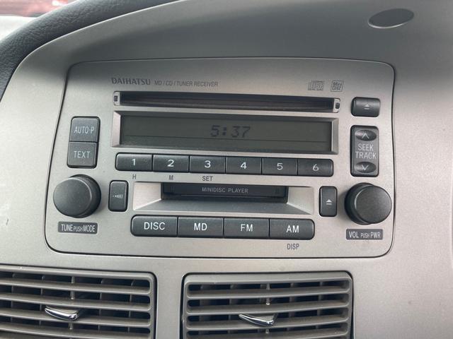 カスタム R 4WD ターボ 純正CD・MDデッキ(17枚目)