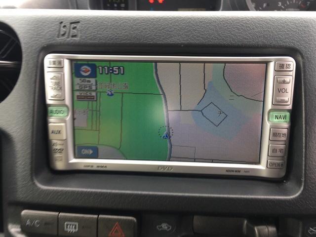 トヨタ bB Z Xバージョン 4WD DVDナビ