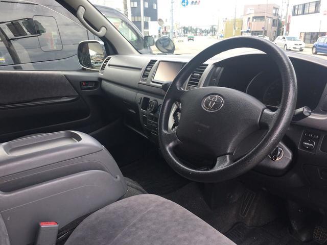 トヨタ ハイエースバン ロングスーパーGL 4WD メモリーナビフルセグTV