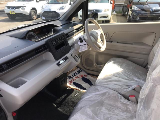 ハイブリッドFX 4WD 届出済未使用車 スズキセーフティサポート スマートキー プッシュスタート オートライト フルオートエアコン CDプレイヤー USB接続オーディオ コーナーセンサー 前席シートヒーター(17枚目)