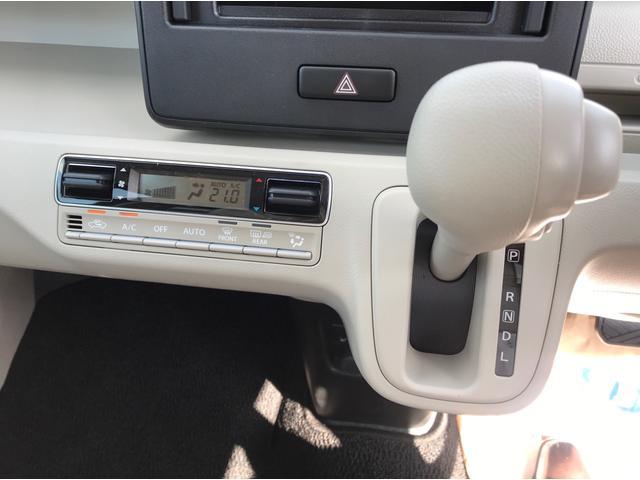 ハイブリッドFX 4WD 届出済未使用車 スズキセーフティサポート スマートキー プッシュスタート オートライト フルオートエアコン CDプレイヤー USB接続オーディオ コーナーセンサー 前席シートヒーター(19枚目)
