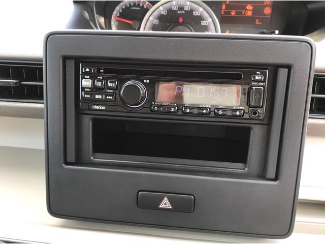 ハイブリッドFX 4WD 届出済未使用車 スズキセーフティサポート スマートキー プッシュスタート オートライト フルオートエアコン CDプレイヤー USB接続オーディオ コーナーセンサー 前席シートヒーター(20枚目)