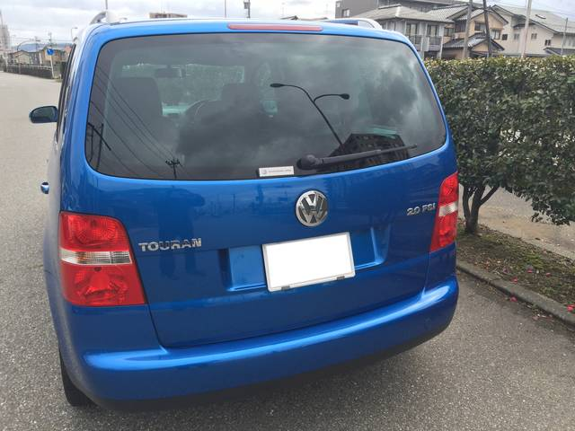 フォルクスワーゲン VW ゴルフトゥーラン GLi ナビ ETC
