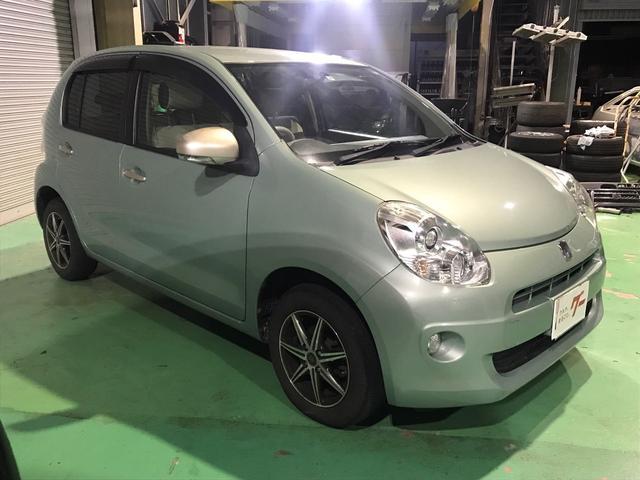 「トヨタ」「パッソ」「コンパクトカー」「石川県」の中古車4