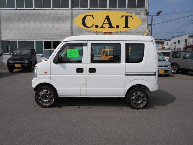 PA 4WD 5速マニュアルリフトUP新品タイヤ自社カスタム(5枚目)