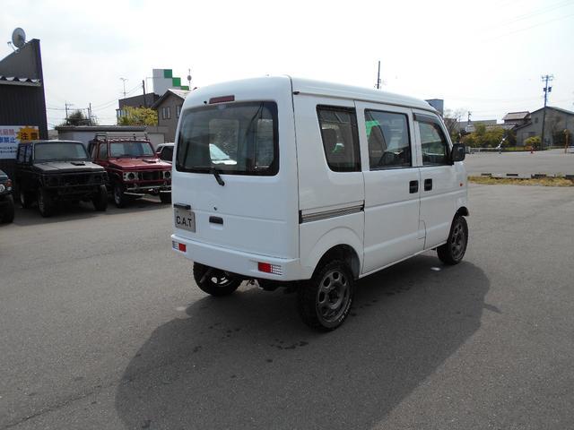 PA 4WD 5速マニュアルリフトUP新品タイヤ自社カスタム(8枚目)
