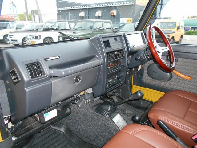 ランドベンチャー 最終型・5速マニュアル・リフトアップ公認・パーツ新品・自社カスタム・4WDターボ(15枚目)