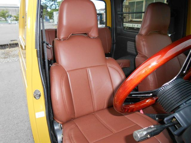 ランドベンチャー 最終型・5速マニュアル・リフトアップ公認・パーツ新品・自社カスタム・4WDターボ(33枚目)