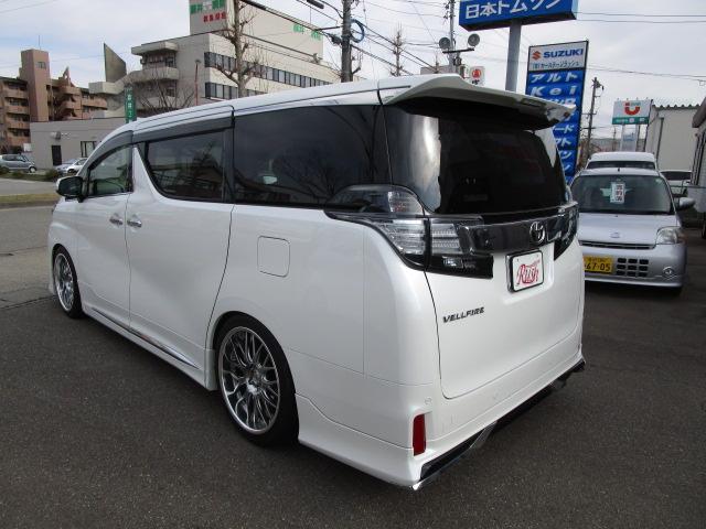 2.5Z Gエディション車高調20AW 本皮シート SR(5枚目)