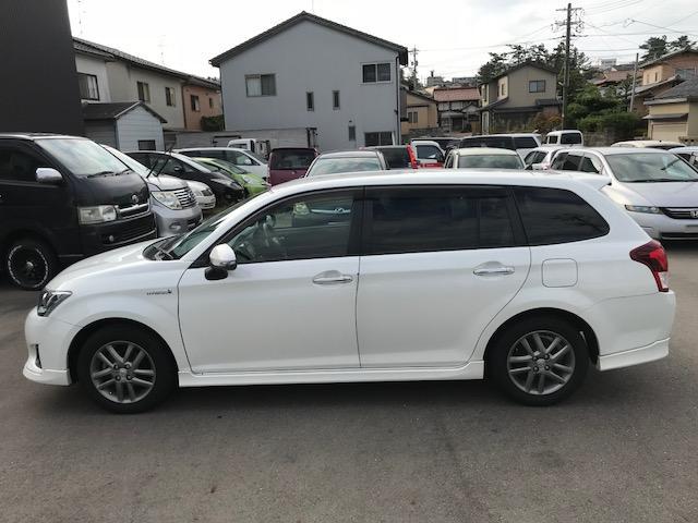 「トヨタ」「カローラフィールダー」「ステーションワゴン」「石川県」の中古車54
