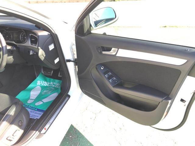 アウディ アウディ A4アバント 2.0TFSIクワトロ 4WD ナビ TV 19インチAW