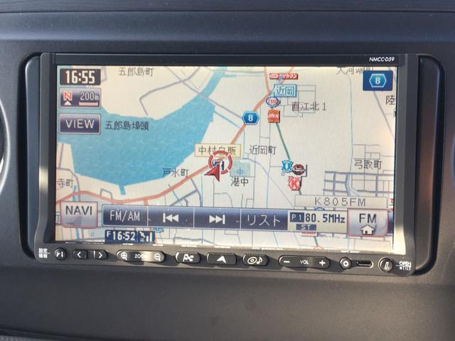 ダイハツ タントエグゼ カスタムRS 4WD 純正メモリーナビ地デジTV