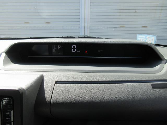 メーターはこんな感じです。スピードメーターがデジタル表示なので簡単に確認が出来ます!!