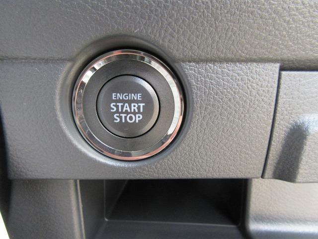 プッシュスタート式のハスラーです!!  ボタン一つでエンジンがかけられます!!室内が暗い時でも 『 鍵穴どこだ...? 』 と、探さなくて済みますね!!