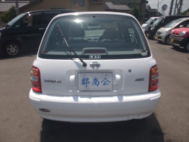 日産 マーチ コレット-f 4WD