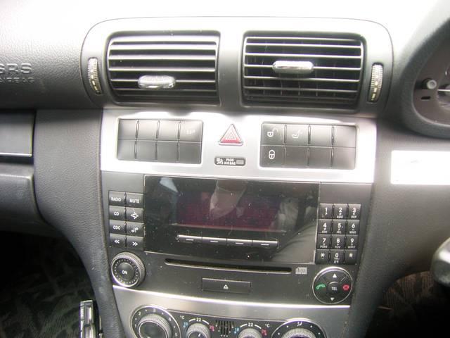 メルセデス・ベンツ M・ベンツ C180コンプレッサー 純正CD付 ETC ローダウン