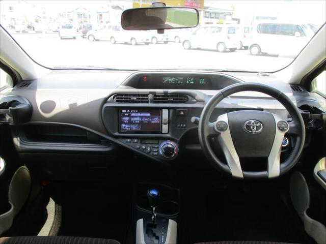 トヨタ アクア G スマートエントリーPKG専用15AW専用HDDフルセグN
