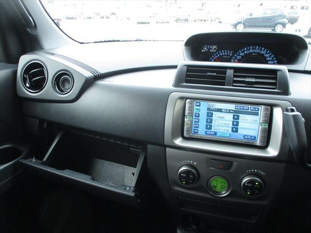 トヨタ bB ZX Ver専用ナビDVD再生専用純正エアロ黒革調シートカバ