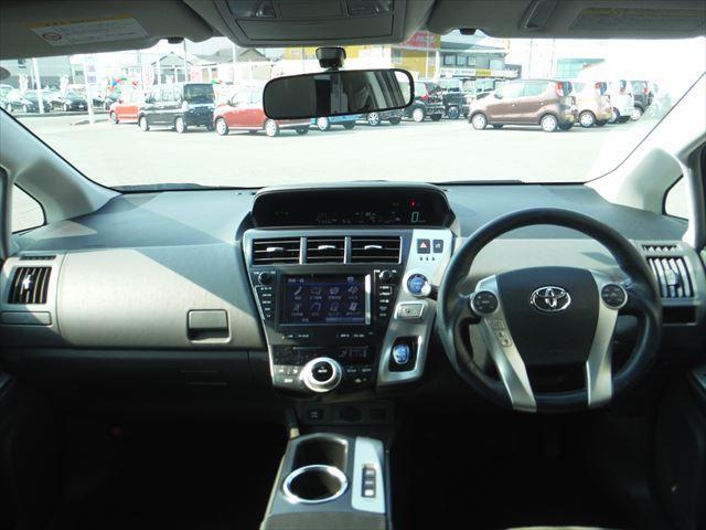 G7人乗りメーカーHDDフルセグナビ社外ステアTEIN車高調(15枚目)