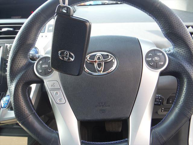 G7人乗りメーカーHDDフルセグナビ社外ステアTEIN車高調(19枚目)