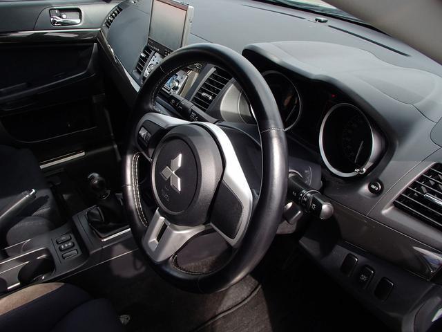 GSRエボリューションX4WD1オーナー5速MT柿本マフラー(12枚目)