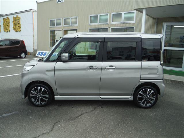 「スズキ」「スペーシアカスタムZ」「コンパクトカー」「石川県」の中古車4