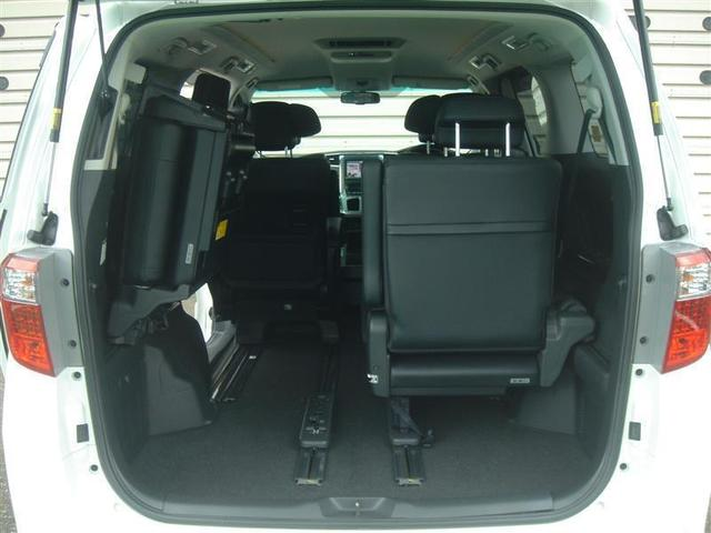 240S Cパッケージ 革シート フルセグ メモリーナビ DVD再生 後席モニター バックカメラ ETC 両側電動スライド HIDヘッドライト 乗車定員7人 3列シート ワンオーナー フルエアロ(8枚目)