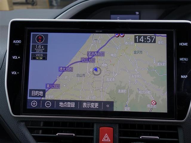 ZS 煌II 4WD フルセグ メモリーナビ DVD再生 バックカメラ 衝突被害軽減システム ETC 両側電動スライド LEDヘッドランプ ウオークスルー 乗車定員7人 3列シート ワンオーナー フルエアロ(6枚目)