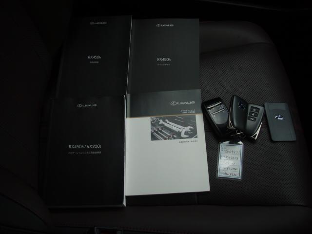 RX450h バージョンL(18枚目)