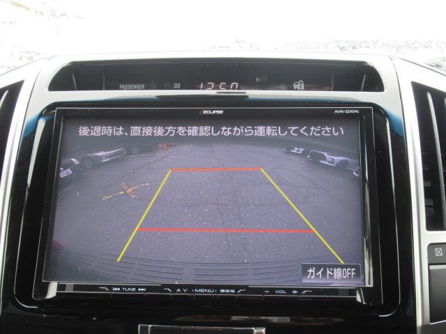 バックカメラが付いているので駐車をサポートしてくれます☆