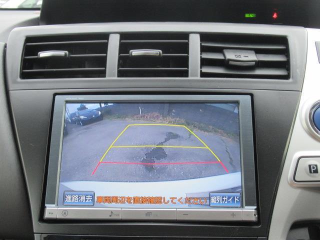 バックカメラ付きなので駐車をサポートしてくれます☆