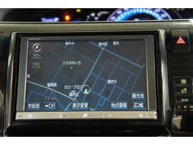アエラス 4WD フルセグ HDDナビ DVD再生 後席モニター バックカメラ ETC 両側電動スライド HIDヘッドライト 乗車定員7人 3列シート ワンオーナー フルエアロ(8枚目)