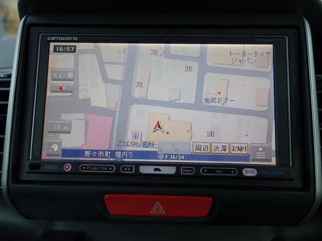 G SSパッケージ ワンセグ HDDナビ DVD再生 両側電動スライド HIDヘッドライト ワンオーナー フルエアロ(6枚目)
